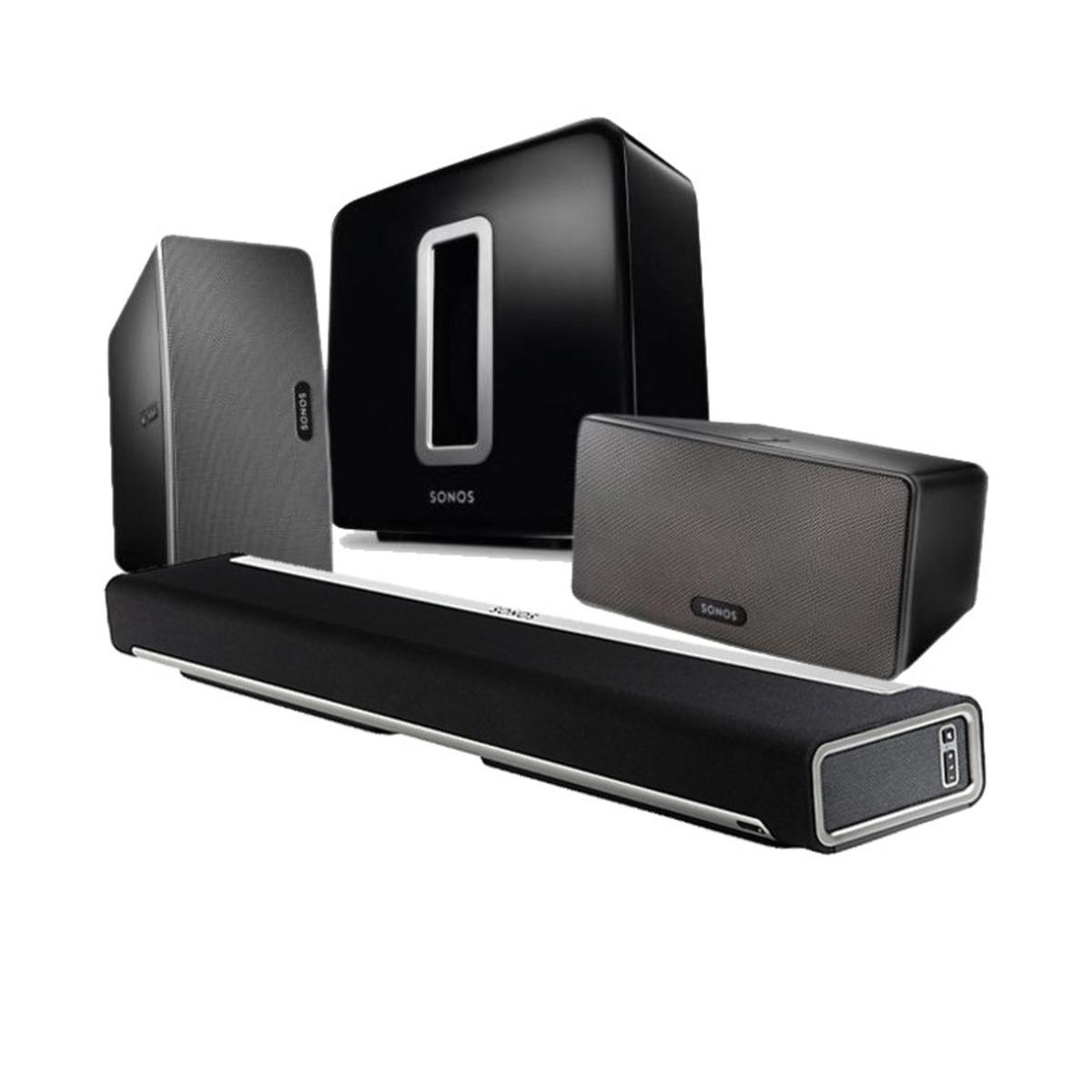 sonos heimkino 5 1 sonos 5 1 heimkino small hidden audio. Black Bedroom Furniture Sets. Home Design Ideas