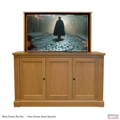 Traditional Jefferson TV Lift Cabinet