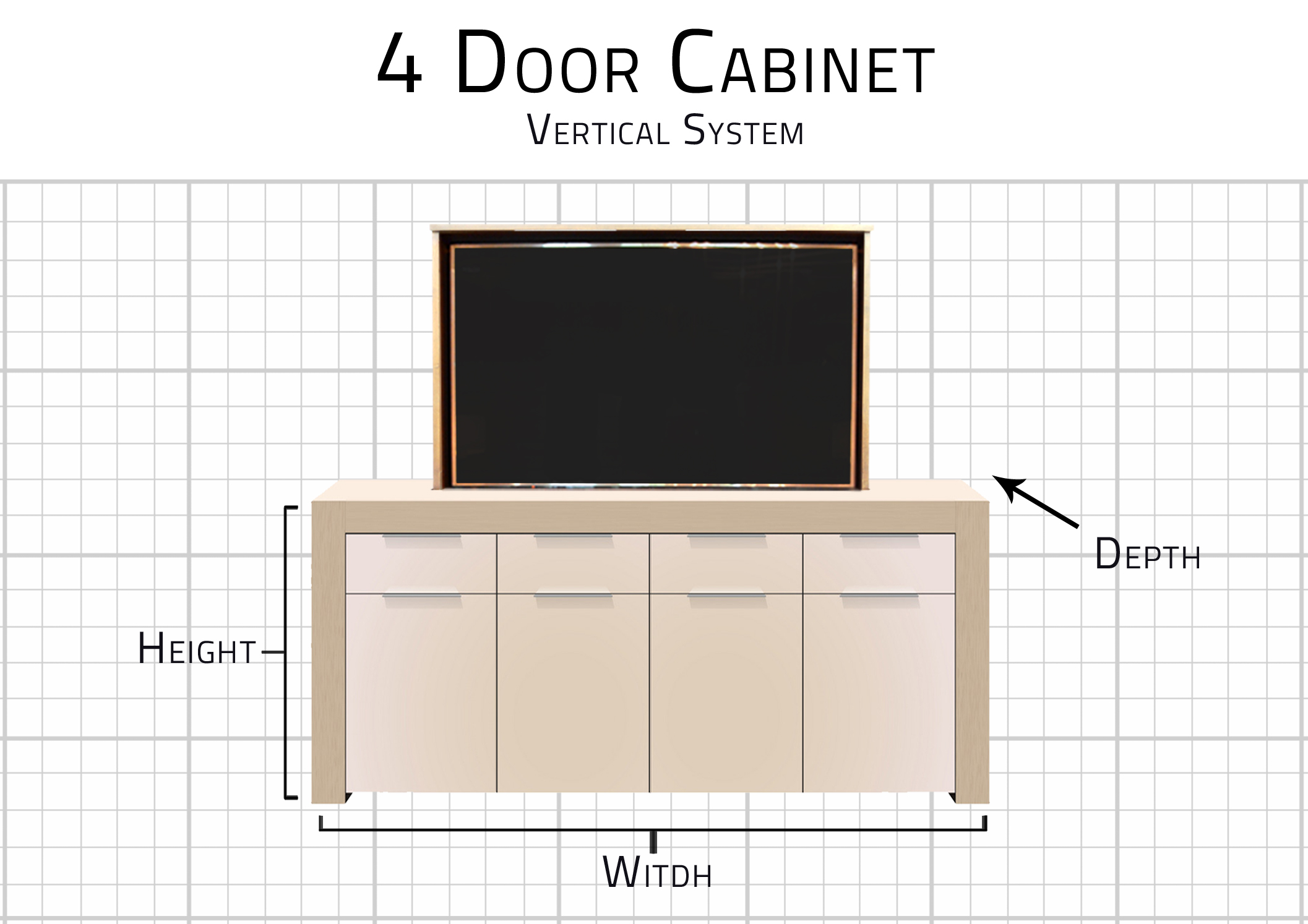 4 door standard dimensions
