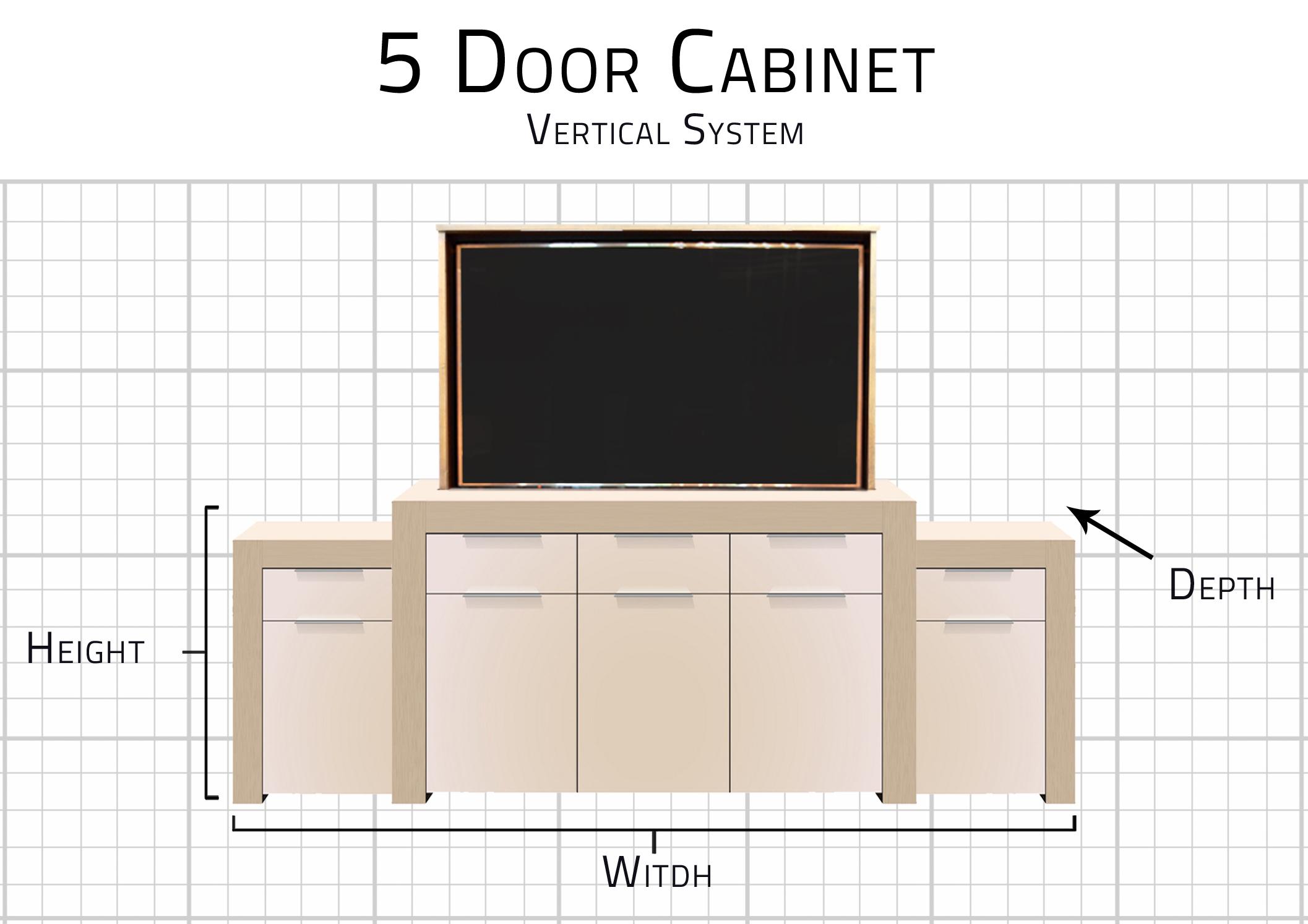 5 Door Standard Dimensions